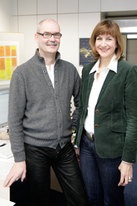Wolfgang Sangs und Andrea Müller